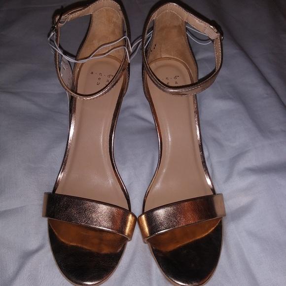 da4a81d541 a new day Shoes | Rose Gold Stilettos | Poshmark